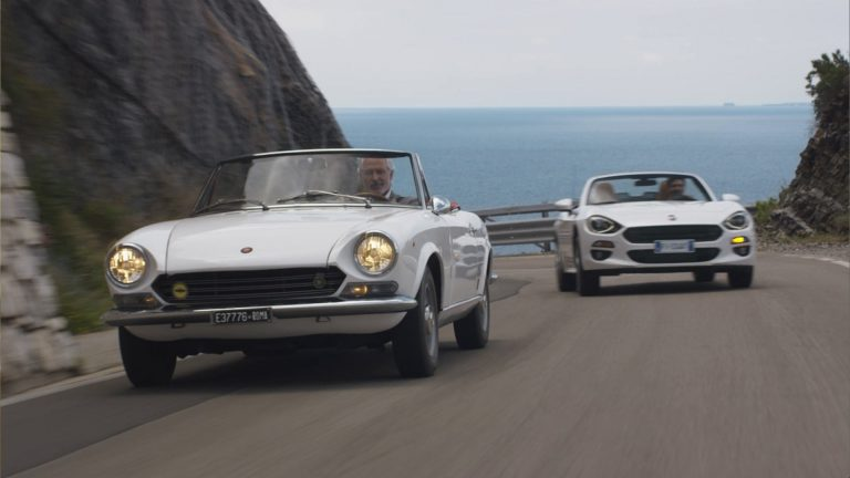 Fiat 124 Spider - Like father, like son